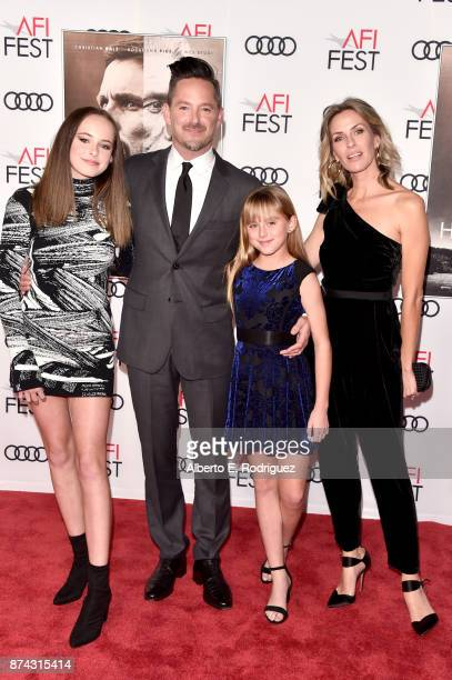 Stella Cooper Scott Cooper Ava Cooper and Jocelyne Cooper attend the screening of Hostiles at AFI FEST 2017 Presented By Audi at TCL Chinese Theatre...