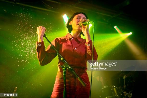 Stella Donnelly performs on stage at Brudenell Social Club on May 02 2019 in Leeds England