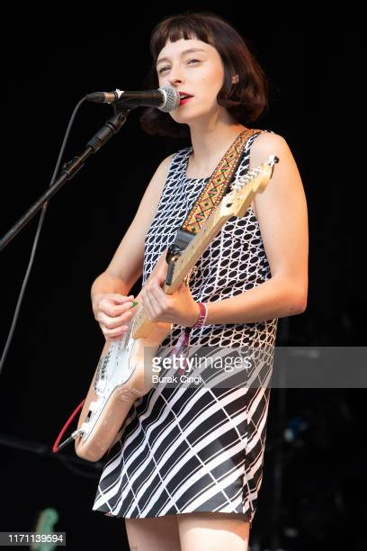 Stella Donnelly performs on stage during End Of The Road Festival 2019 at Larmer Tree Gardens on August 30, 2019 in Salisbury, England.