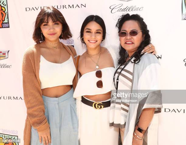 Stella Hudgens Vanessa Hudgens and Gina Guangco attend Mother's Day Weekend Brunch Hosted By Best Buddies Global Ambassador Cindy Crawford And...