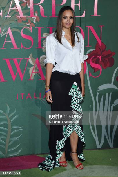 Stella Jean attends the Green Carpet Fashion Awards during the Milan Fashion Week Spring/Summer 2020 on September 22, 2019 in Milan, Italy.