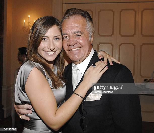 Stella Keitel and Tony Sirico during Soiree for JRA May 17 2007 at Harmonie Club in New York City New York United States