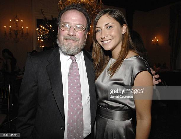 Stella Keitel with Dr Andrew Eichenfeld during Soiree for JRA May 17 2007 at Harmonie Club in New York City New York United States
