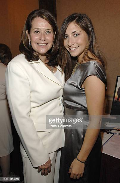 Stella Keitel with Lorraine Bracco during Soiree for JRA May 17 2007 at Harmonie Club in New York City New York United States