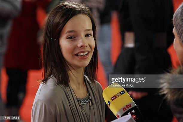 Stella Kunkat Bei Der Weltpremiere Des Kinofilms Dschungelkind Im Cinestar Im Sonycenter In Berlin