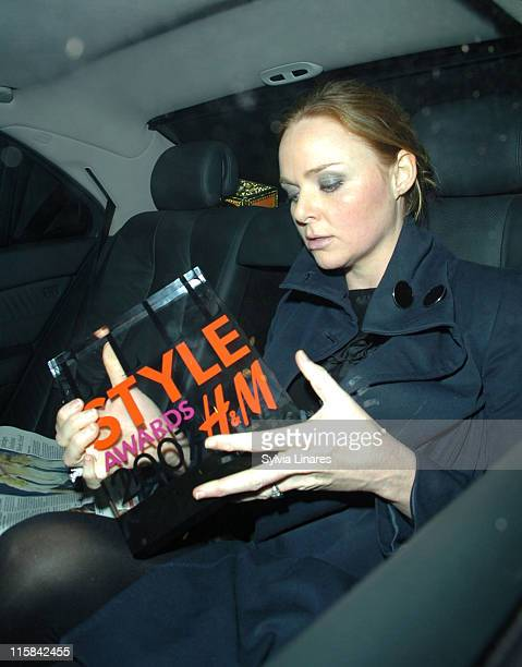 Stella MaCartney during Elle Style Awards 2007 Departures at Roundhouse in London Great Britain