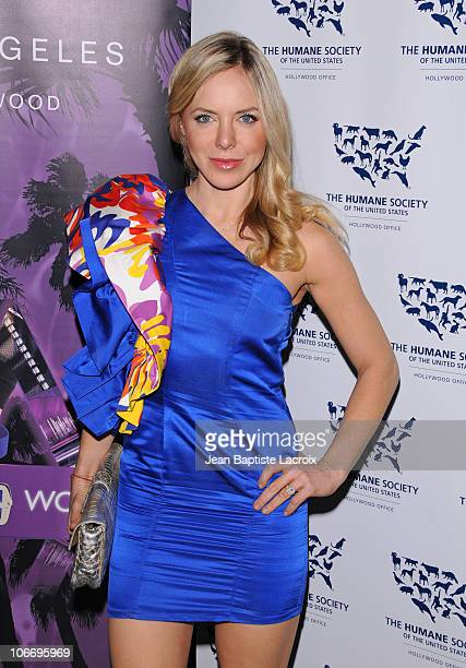 Stella Maeve attends the HSUS 'Rescue Paws' event at W Westwood on November 10 2010 in Westwood California