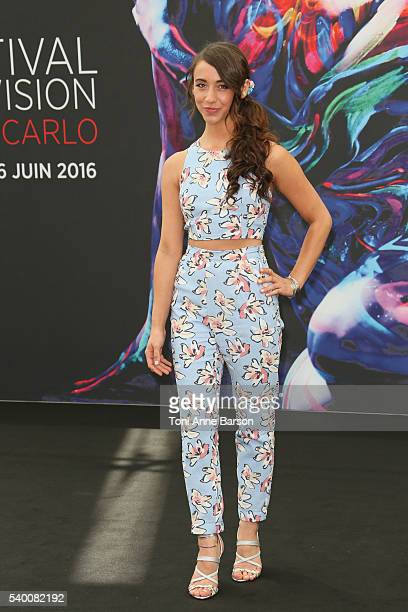 Stella Maeve attends The Magicians Photocall as part of the 56th Monte Carlo Tv Festival at the Grimaldi Forum on June 13 2016 in MonteCarlo Monaco