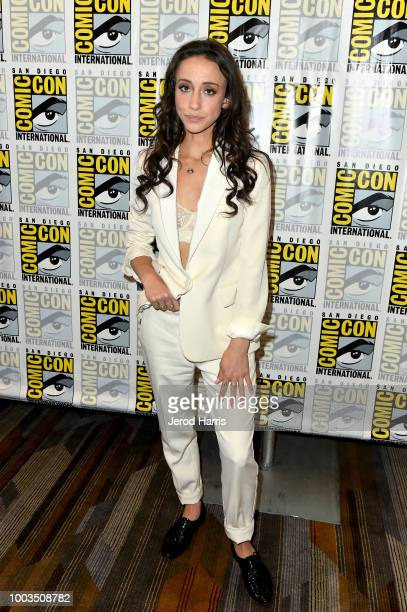 Stella Maeve attends the 'The Magicians' Press Line during ComicCon International 2018 at Hilton Bayfront on July 21 2018 in San Diego California