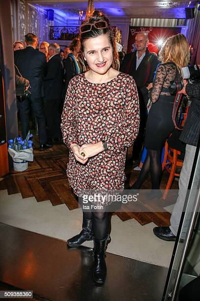 Stella Maria Adorf attends the Blaue Blume Awards 2016 on February 10 2016 in Berlin Germany