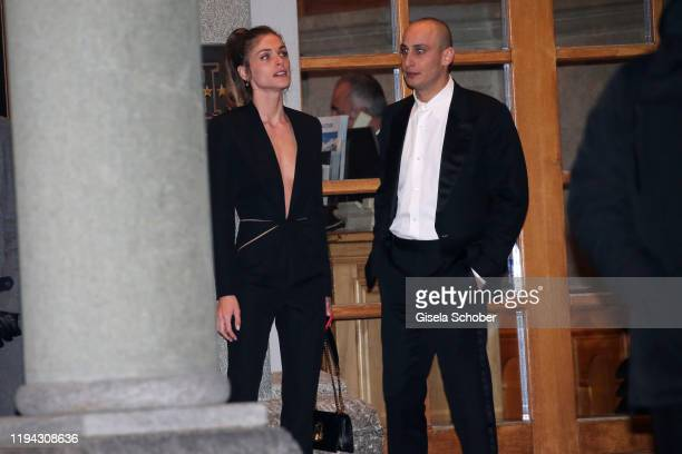 Stella Maxwell and Alexander Alex Dellal former boyfriend of Charlotte Casiraghi during the wedding party of Stavros Niarchos III and Dasha Zhukova...