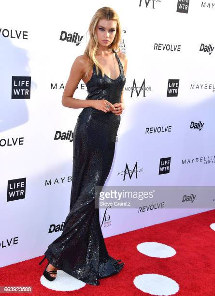 Stella Maxwell arrives at the Daily Front Row's 3rd Annual Fashion Los Angeles Awards on April 2 2017 in West Hollywood California