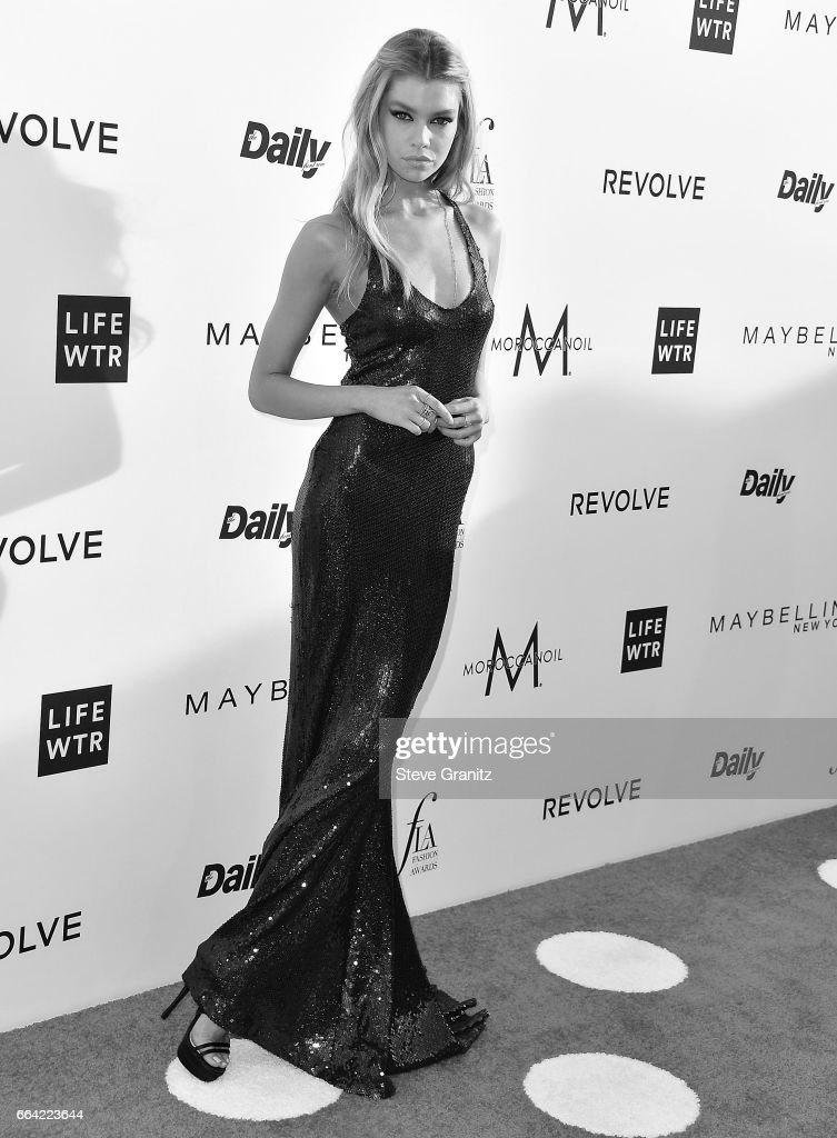 Stella Maxwell arrives at the Daily Front Row's 3rd Annual Fashion Los Angeles Awards on April 2, 2017 in West Hollywood, California.