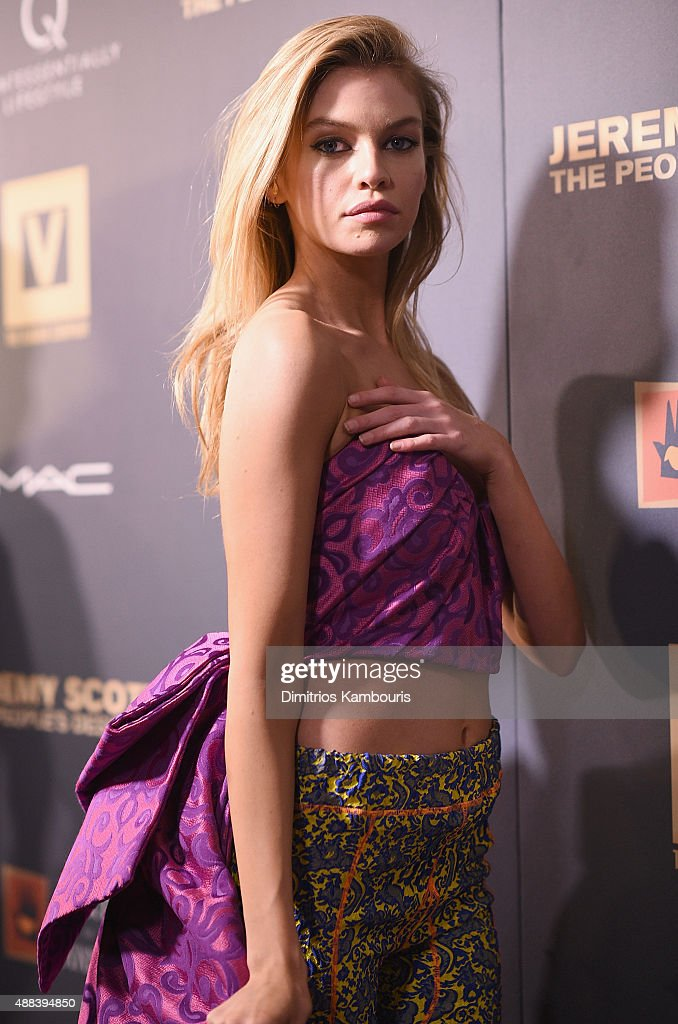 Stella Maxwell attends 'Jeremy Scott: The People's Designer' New York Premiere at The Paris Theatre on September 15, 2015 in New York City.