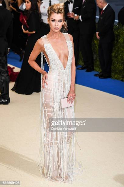 Stella Maxwell attends 'Rei Kawakubo/Comme des Garcons Art Of The InBetween' Costume Institute Gala Arrivals at Metropolitan Museum of Art on May 1...