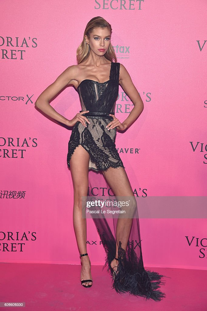 Stella Maxwell attends the 2016 Victoria's Secret Fashion Show after party on November 30, 2016 in Paris, France.