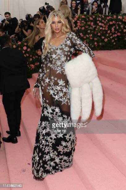 Stella Maxwell attends the 2019 Met Gala celebrating Camp Notes on Fashion at The Metropolitan Museum of Art on May 6 2019 in New York City
