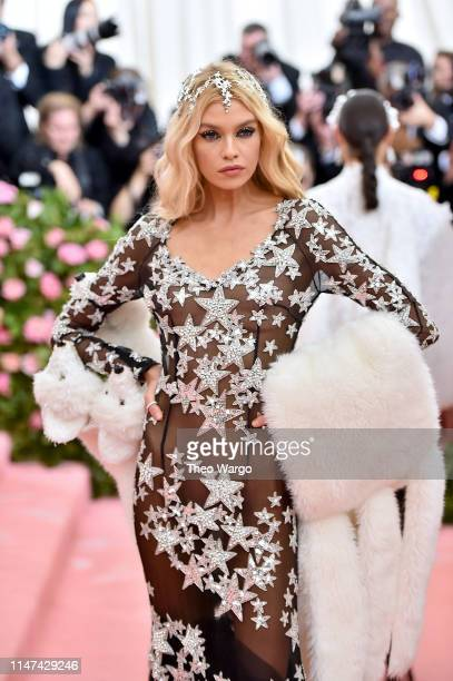 Stella Maxwell attends The 2019 Met Gala Celebrating Camp Notes on Fashion at Metropolitan Museum of Art on May 06 2019 in New York City