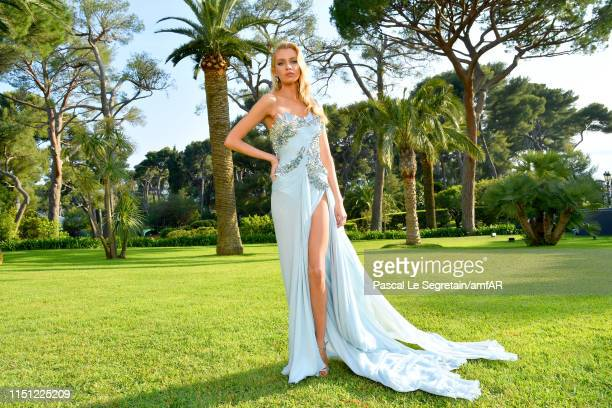 Stella Maxwell attends the amfAR Cannes Gala 2019 at Hotel du CapEdenRoc on May 23 2019 in Cap d'Antibes France