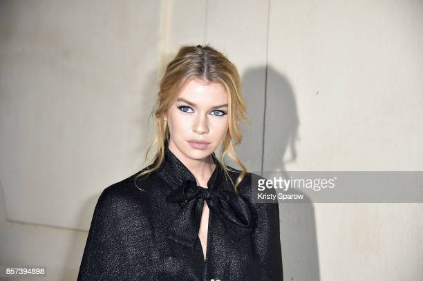 Stella Maxwell attends the Chanel 'Code Coco' Watch Launch Party as part of the Paris Fashion Week Womenswear Spring/Summer 2018 on October 3 2017 in...