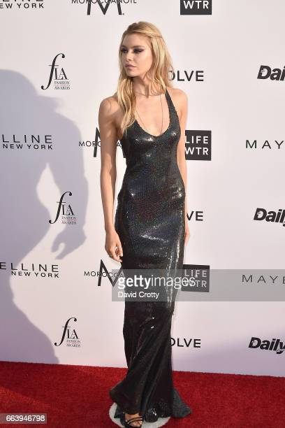 Stella Maxwell attends the Daily Front Row's 3rd Annual Fashion Los Angeles Awards Arrivals at Sunset Tower Hotel on April 2 2017 in West Hollywood...