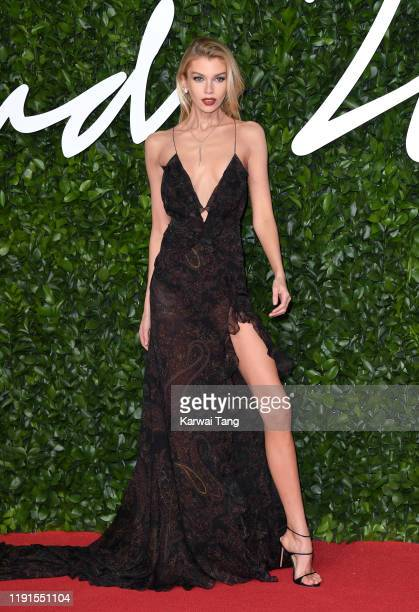 Stella Maxwell attends The Fashion Awards 2019 at the Royal Albert Hall on December 02, 2019 in London, England.