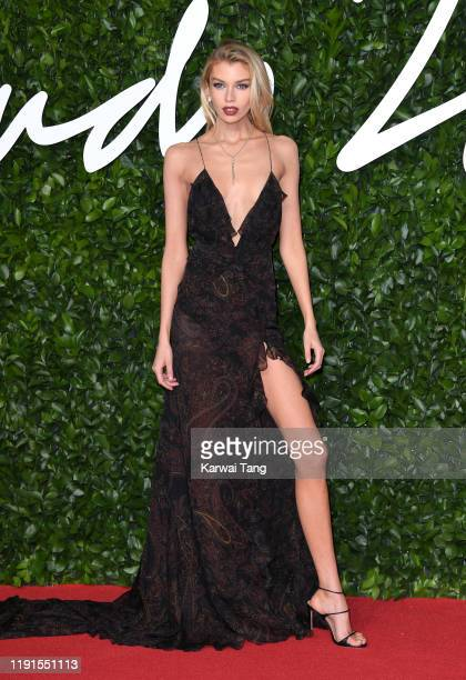 Stella Maxwell attends The Fashion Awards 2019 at the Royal Albert Hall on December 02 2019 in London England
