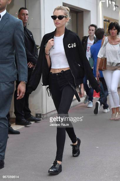 Stella Maxwell is seen during the 71st annual Cannes Film Festival at on May 10 2018 in Cannes France