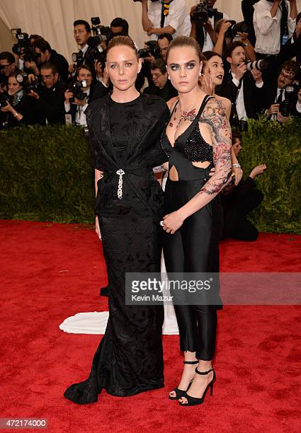 Stella McCartney and Cara Delevingne attend the 'China Through The Looking Glass' Costume Institute Benefit Gala at Metropolitan Museum of Art on May...