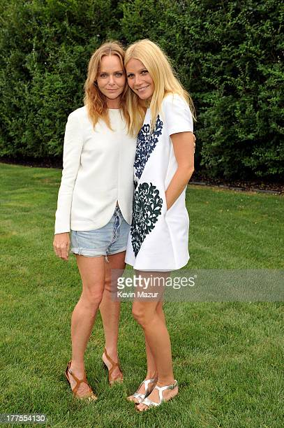 Stella McCartney and Gwyneth Paltrow host an english garden party for Goop on August 23 2013 in Amagansett New York