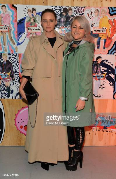 Stella McCartney and Jaime Winstone attend the Hunter Festival Kick Off Party on May 18 2017 in London England
