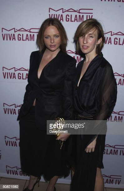 Stella McCartney and Sam Taylor Wood attend the MAC Cosmetics Charity Party to support Aids in London in honour of Mary J Blige at The Criterion...