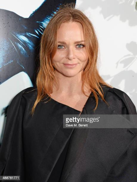 """Stella McCartney arrives at a private reception as costumes and props from Disney's """"Maleficent"""" are exhibited in support of Great Ormond Street..."""
