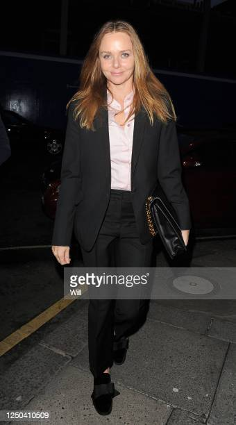 Stella McCartney arrives at Le Caprice Restaurant on May 3 2012 in London England