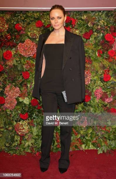 Stella McCartney arrives at The 64th Evening Standard Theatre Awards at the Theatre Royal Drury Lane on November 18 2018 in London England