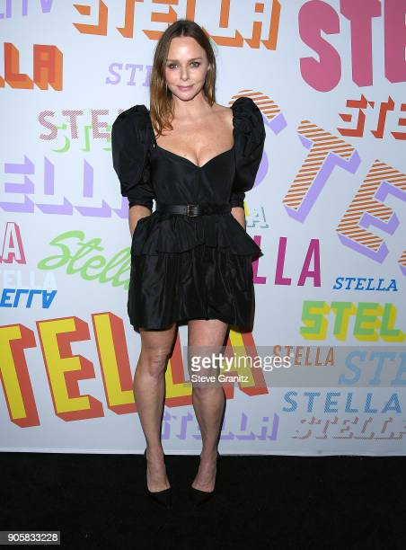 Stella McCartney arrives at the Stella McCartney's Autumn 2018 Collection Launch on January 16 2018 in Los Angeles California