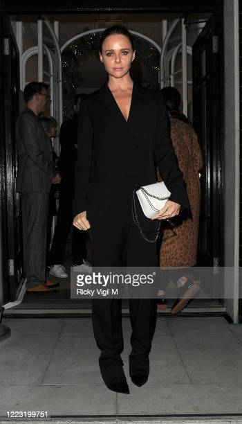 Stella McCartney at her Christmas Lights, annual in-store party on December 07, 2016 in London, England.