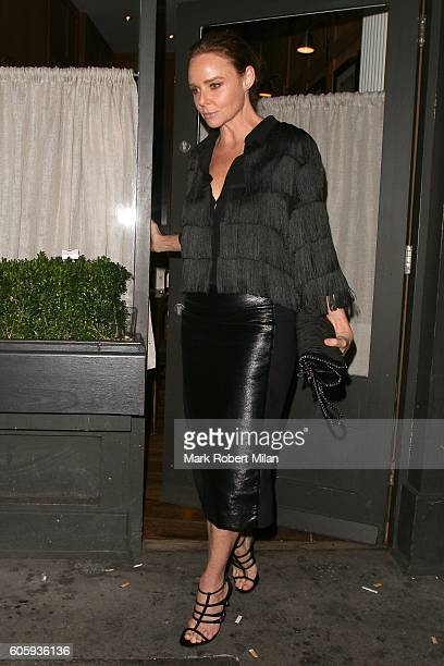 Stella McCartney attending The Beatles Eight Days A Week premiere after party on September 15 2016 in London England