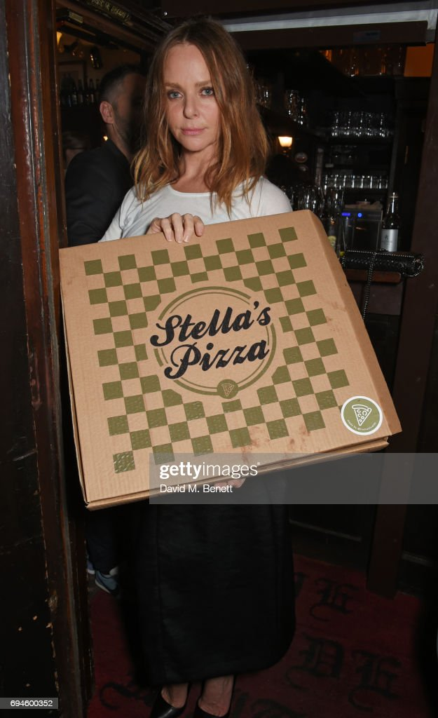 Stella McCartney attends a celebration of the Stella McCartney AW17 collection and film launch at Ye Olde Mitre on June 10, 2017 in London, England.