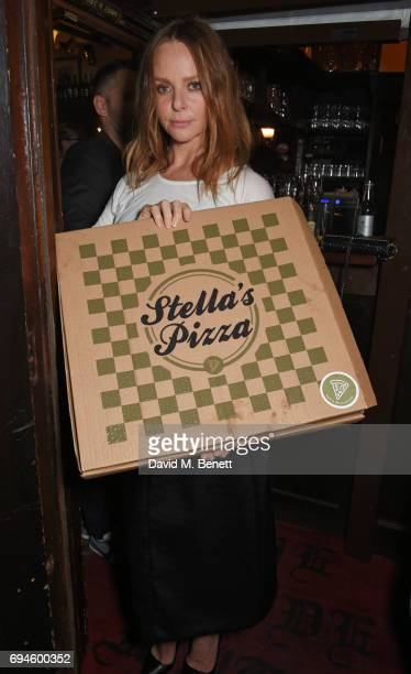 Stella McCartney attends a celebration of the Stella McCartney AW17 collection and film launch at Ye Olde Mitre on June 10 2017 in London England