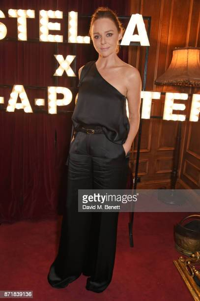 Stella McCartney attends a private dinner hosted by NETAPORTER and Stella McCartney to celebrate the launch of the Stella McCartney x NETAPORTER...