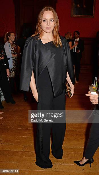 """Stella McCartney attends a private reception as costumes and props from Disney's """"Maleficent"""" are exhibited in support of Great Ormond Street..."""