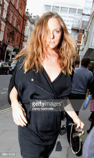 Stella McCartney attends Simon Aboud book launch party at the St Martins Lane Hotel on June 8 2009 in London England