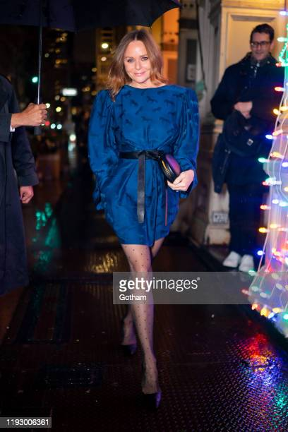 Stella McCartney attends Stella McCartney holiday party in SoHo on December 09, 2019 in New York City.