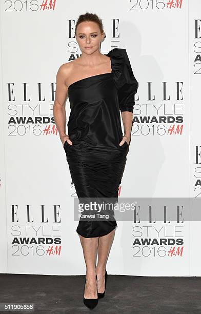 Stella McCartney attends The Elle Style Awards 2016 on February 23 2016 in London England