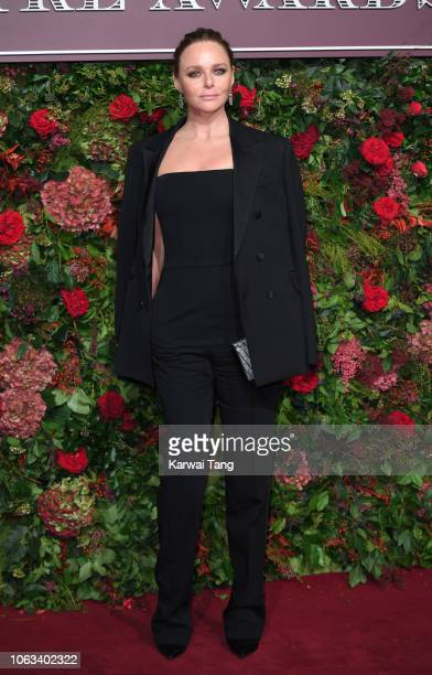 Stella McCartney attends the Evening Standard Theatre Awards 2018 at Theatre Royal Drury Lane on November 18 2018 in London England