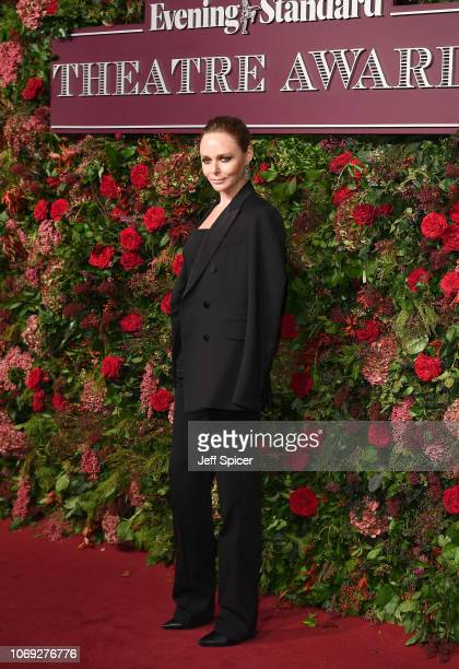 Stella McCartney attends the Evening Standard Theatre Awards 2018 at the Theatre Royal on November 18 2018 in London England