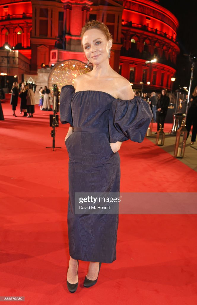 Stella McCartney attends The Fashion Awards 2017 in partnership with Swarovski at Royal Albert Hall on December 4, 2017 in London, England.