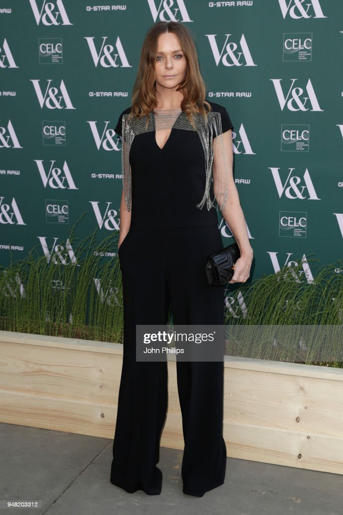 Stella McCartney attends the Fashioned From Nature VIP preview at The V&A on April 18, 2018 in London, England.