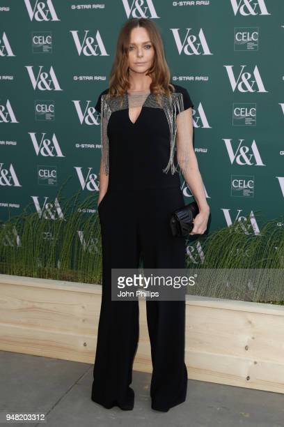 Stella McCartney attends the Fashioned From Nature VIP preview at The VA on April 18 2018 in London England